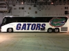 Gators team bus