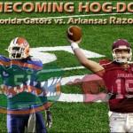 Week 7: No. 1 Florida Gators vs. Ark. Razorbacks