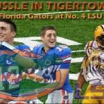 Week 6: No. 1 Florida Gators at No. 4 LSU Tigers