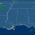 Track Razorbacks en route to Gainesville