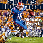 Gators QB Tebow featured on tenth SI cover