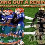 Week 10: No. 1 Florida Gators vs. Vanderbilt