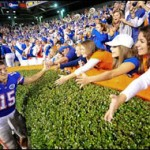 Praise lauded on Tebow prior to home finale