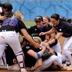 No. 4 Gators softball downs No. 13 Sun Devils, advances to Women's College World Series