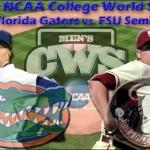 2010 NCAA College World Series Gameday (06/21): No. 3 Florida Gators vs. Florida State Seminoles