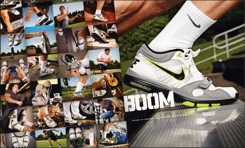 Tebow's Nike Trainer 1.2 ad graces magazines | OnlyGators.com