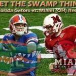 Week 1: No. 3 Florida Gators vs. Miami RedHawks