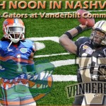 Week 10: Florida Gators at Vanderbilt Commodores