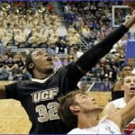 Knights upset No. 16 Gators 57-54 in Orlando