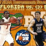 2011 NCAA Tournament: (2) Florida vs. (3) BYU