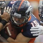 Tebow nearly leads Broncos to comeback win