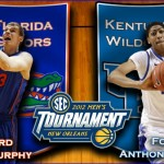 2012 SEC Tournament: (4) Florida vs. (1) Kentucky