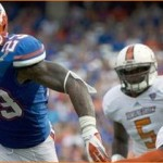 Gillislee runs Florida past Bowling Green 27-14