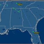 Track the Florida Gators en route to Nashville