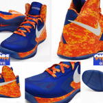 Florida Gators Nike camouflage sneakers, t-shirt