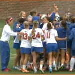 Florida lacrosse celebrates program's first Senior Day with 22-4 rout of Northwestern, ALC title