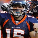 Tim Tebow's game-winning touchdown in OT leads Broncos to first NFL playoff win since '05-06