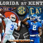 Gameday: No. 19 Florida Gators at Kentucky