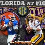 Gameday: No. 17 Florida Gators at No. 10 LSU
