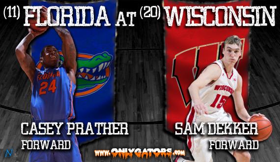Gameday no 11 florida vs no 20 wisconsin onlygators com