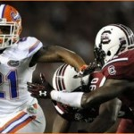 No. 10 Gamecocks fight back to top Gators 19-14