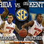 Senior Day: No. 1 Florida Gators (28-2, 17-0 SEC) vs. No. 25 Kentucky Wildcats