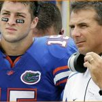 Tim Tebow sends best wishes to Urban Meyer