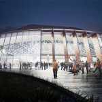 Renderings released of Stephen C. O'Connell Center redesign not from winning firm
