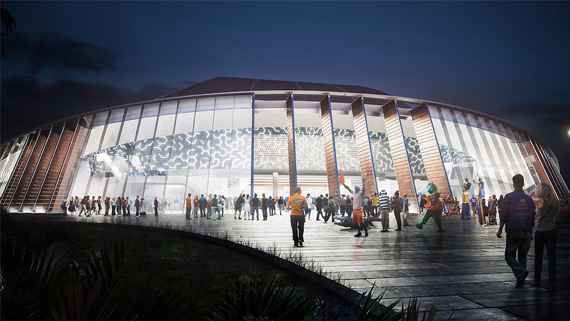O Connell Center Renovations : Renderings released of stephen c o connell center