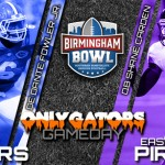Gameday: 2015 Birmingham Bowl (Birmingham, AL) – Florida Gators vs. East Carolina Pirates