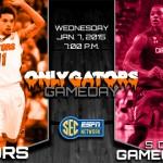 Gameday: Florida Gators at South Carolina Gamecocks; Horford and Hodskins suspended