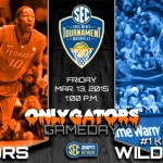 2015 SEC Tournament Gameday: Florida Gators vs. Kentucky Wildcats – Third time a charm?