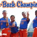 BACK-2-BACK CHAMPS: Florida Gators softball wins 2015 WCWS, second straight national title
