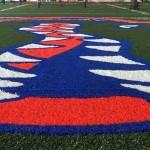 LOOK: Gators logo looks sharp on turf inside Florida's new indoor practice facility