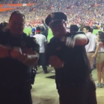 WATCH: Gainesville police dance, Oxford police pay off bet after Gators' win