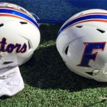 Florida Gators break out brand new white helmets for homecoming vs. Vanderbilt