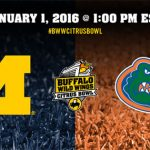 Florida to face Michigan in 2016 Citrus Bowl; Gators fall in final top 25 rankings