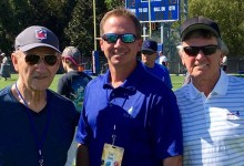 Steve Spurrier, Jack Del Rio … and Gene Hackman visit Florida Gators football practice