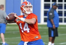 Gators hope to find out if they have a starting QB in Luke Del Rio