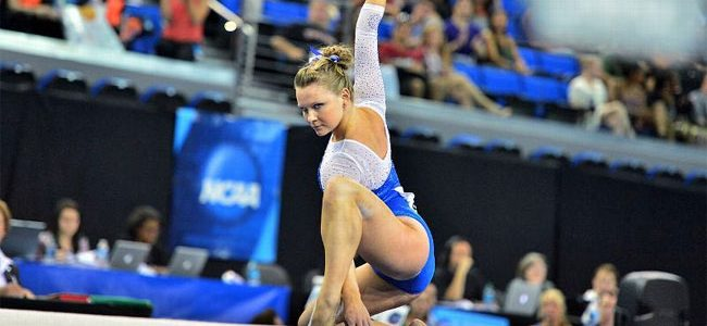 Four-peat? Florida gymnastics advances to NCAA Super Six