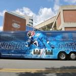 LOOK: Florida Gators unveil sharp new bus for club tour