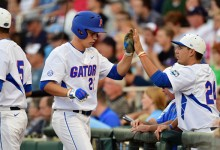 Florida Gators lifted into 2016 College World Series by JJ Schwarz's clutch grand slam