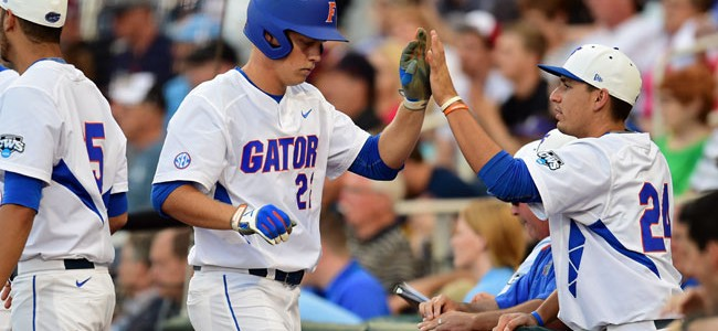 Florida baseball earns No. 1 overall seed in 2016 NCAA Tournament, will host Gainesville Regional