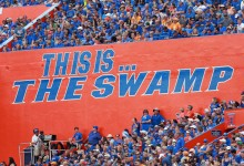 Weather cancels Florida Gators football game for the third time in four seasons