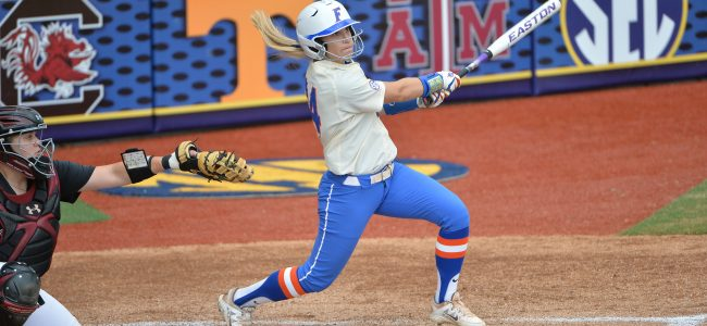 Gators softball clinches 2016 SEC Championship
