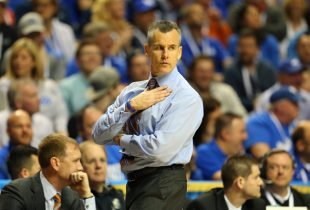 Billy Donovan tears up before court naming as memories of greatness waft over Florida fans