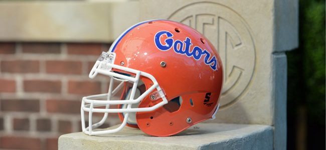 Florida football to wear special Mr. Two Bits helmet sticker in 2019 home opener