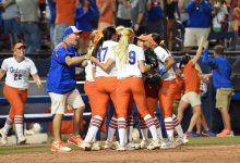 No. 1 Florida Gators softball falls flat in disappointing Super Regional