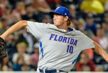 A.J. Puk leads five Florida Gators selected on first night of 2016 MLB Draft