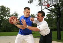 The private Gators championship celebration with Urban Meyer, Billy Donovan and Jeremy Foley